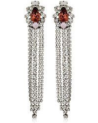Giuseppe Zanotti - Crystal Earrings - Lyst