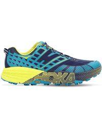 Hoka One One - Speedgoat 2 Running Trainers - Lyst