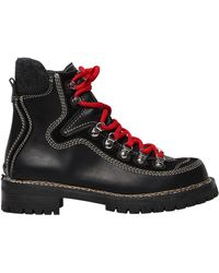 DSquared² - 40mm Canada Leather Hiking Boots - Lyst