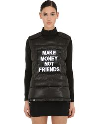 MAKE MONEY NOT FRIENDS - Veste Pare-balles Sans Manches - Lyst
