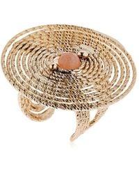 Rosantica - Soffio Spiral & Quartz Ring - Lyst