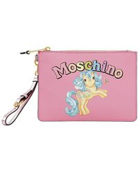 Moschino - Small Little Pony Printed Pouch - Lyst