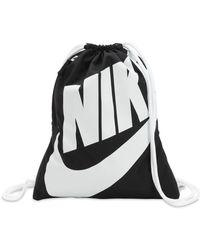 Nike - Heritage Nylon Drawstring Backpack - Lyst