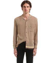 The Kooples - Fluid Viscose Pyjama Shirt - Lyst