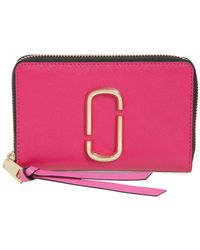 Marc Jacobs - Small Zip Around Wallet - Lyst