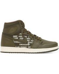 Nike Air Jordan 1 Retro High Og Sneakers - Green