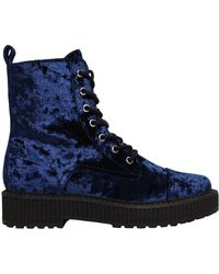 Katy Perry - 30mm Gia Crushed Velvet Boots - Lyst