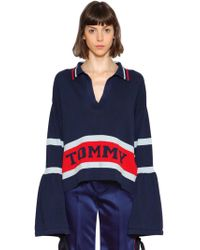 Tommy Hilfiger - Striped Cotton Jumper - Lyst