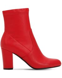 Steve Madden - 90mm Actual Faux Leather Boots - Lyst