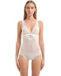 La Perla - Lace Bodysuit - Lyst