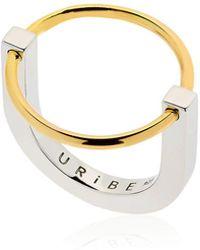 Uribe - Arno Circle Ring - Lyst