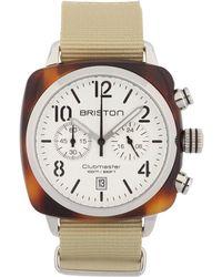 Briston - Icons Clubmaster Classic Chrono Watch - Lyst