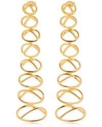 Joanna Laura Constantine - Knot Dangling Earrings - Lyst