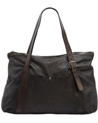 Numero 10 - Leather Bag W/ Vintage Effect - Lyst