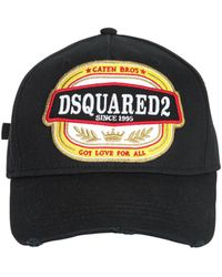 DSquared² D2 Parachute Patches Canvas Baseball Hat in Red for Men - Lyst f501080aeeda