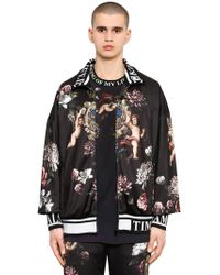 Dolce & Gabbana - Angels Printed Jersey Track Jacket - Lyst