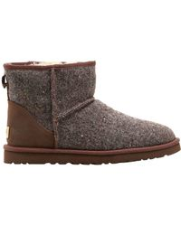 UGG - Classic Mini Donegal Tweed Boots - Lyst