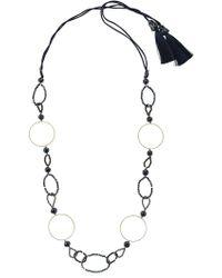 Night Market - Symmetric Circle Necklace - Lyst