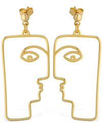 Nina Kastens Jewelry - Pina Earrings - Lyst