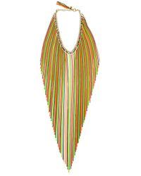 Rosantica - Medusa Long Chain Fringe Necklace - Lyst