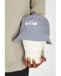 Stone Island | 992xc Cotton Tela Paracadute Marina Bucket Hat | Lyst