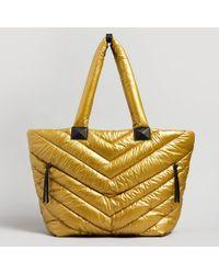 Mackage - Rox Nylon & Leather Tote Bag - Lyst