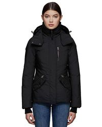 Mackage - Romi Fitted Down Jacket With Removable Hood Szl163 Col150 - Lyst