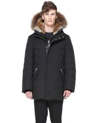 Mackage - Edward Hip Length Down Winter Parka With Fur - Lyst