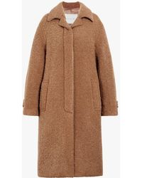 Mackintosh - Beige Poodle Tweed Coat Lm-081f - Lyst