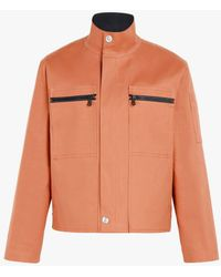 Mackintosh - Amber Bonded Cotton 0003 Workers Jacket - Lyst