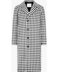 Mackintosh - Shepherd Check Wool Coat - Lyst