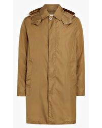 Mackintosh - Beige Nylon Hooded Coat Gm-043b - Lyst