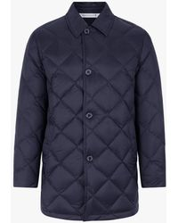 Mackintosh - Navy Quilted Nylon Jacket Gd-015 - Lyst