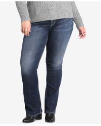 f066fc9e7d5 Silver Jeans Co. - Plus Size Avery High-rise Curvy-fit Boot-