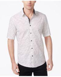 Alfani - Classic-fit Dash Print Shirt - Lyst