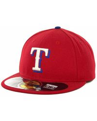 KTZ - Texas Rangers Authentic Collection 59fifty Hat - Lyst