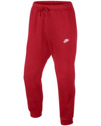 1bb0508db74c Lyst - Nike Logo Track Pants in Green for Men