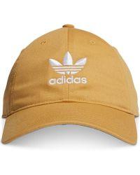 5128d05a adidas Originals Men's Hat in Red for Men - Lyst