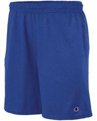 "Champion - 8.5"" Jersey Shorts - Lyst"