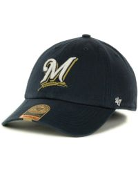 reputable site 49089 03bec 47 Brand - Milwaukee Brewers Franchise Cap - Lyst