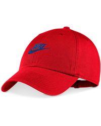 a3c6c252501 Lyst - Nike Futura True 2 Snapback Hat in Red for Men