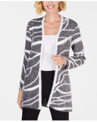 Alfani - Textured Open-front Cardigan, Created For Macy's - Lyst