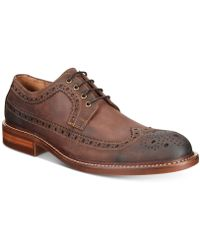 Kenneth Cole Reaction - Men's Giles Dress Casual Wingtip Oxfords - Lyst