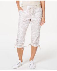 4a2da2028 Women's Calvin Klein Cropped pants On Sale - Lyst