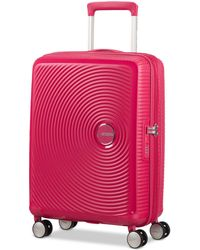 "American Tourister - Curio 20"" Carry-on Spinner Suitcase - Lyst"