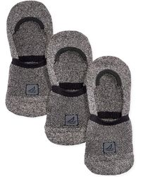 Sperry Top-Sider - Athletic Compression Liner Socks 3-pack - Lyst