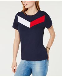 Tommy Hilfiger - Sport Chevron-logo T-shirt - Lyst