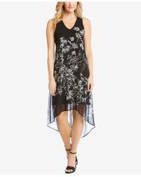 Karen Kane - Floral-print High-low Dress - Lyst