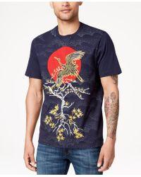 Sean John - Okinawan Crane Embroidered T-shirt, Created For Macy's - Lyst