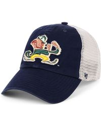 reputable site 21b26 36bc0 Illinois Fighting Illini Franchise Cap.  30. Macy s · 47 Brand - Notre Dame  Fighting Irish Stamper Closer Stretch Fitted Cap - Lyst